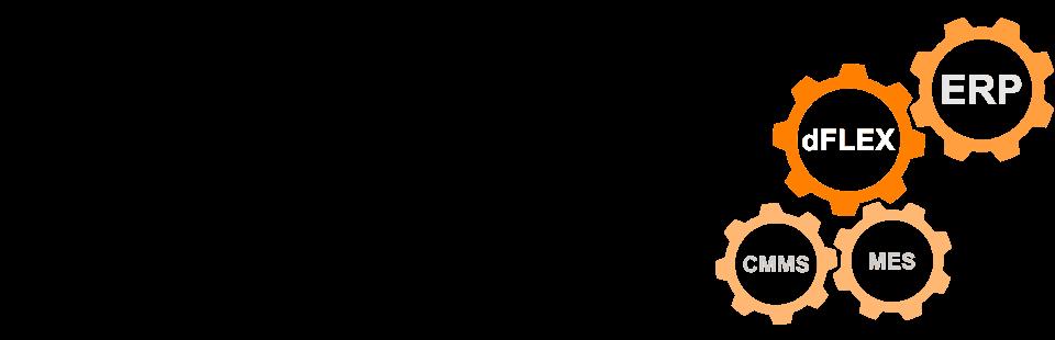 Integracja systemu planowania produkcji dFLEX Gantt z ERP/MRP.