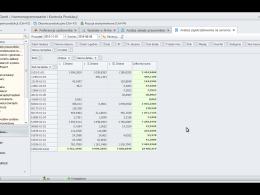 Zaawansowane analizy danych dostępne w systemie dFLEX Gantt. Szybki dostęp do niestandardowych analiz na życzenie.